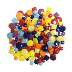Mosaic Dots, Spots and Squares 3 Lb Mega Mix Bulk