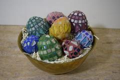 Colorful Mosaic Eggs Free Mosaic Project Guide