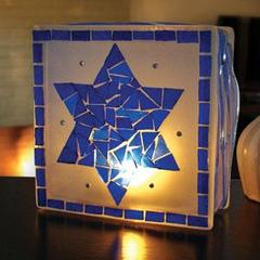 Hanukkah KraftyBlok Luminary Free Project Guide