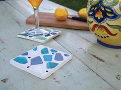 Mosaic Tumbled Glass Coasters Project Guide