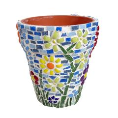 Mosaic Flower Pot Project Guide