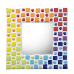 Cascading Rainbow Mosaic Mirror Free Project Guide