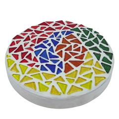 Abstract Mosaic Stepping Stone
