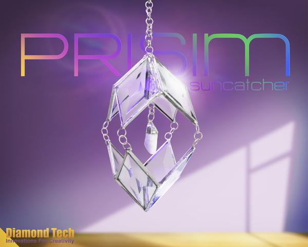 Prism Suncatcher Free Project Guide Diamond Tech Crafts