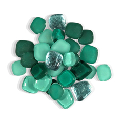 4 oz Emerald Pebble Tile