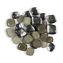 4 oz Gunmetal Grey Pebble Tile