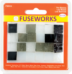 "Fuseworks 1/2"" Chips   The Basics   90 Coe   24 Pc Pack"