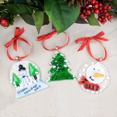 Fused Christmas Ornaments Project Guide