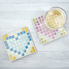 8Bit Mosaic Sweetheart Coaster Project Guide