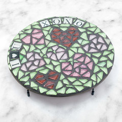 I Heart You Mosaic Trivet Project Guide