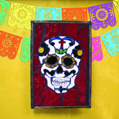 Dia De Los Muertos Stained Glass Panel Project Guide
