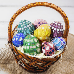 Mosaic Easter Eggs Project Guide