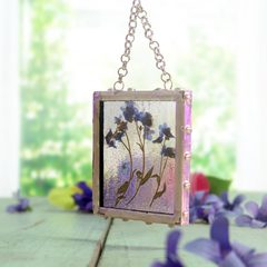Nature's Window Pressed Flower Frame Project Guide