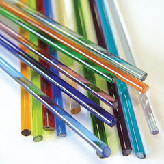 Transparent Glass Rods