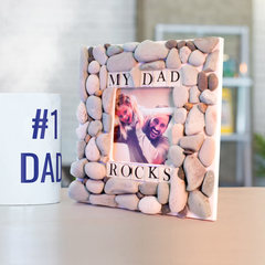 My Daddy Rocks Picture Frame Project Guide