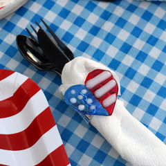 Love & Liberty Napkin Ring Project Guide