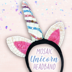Mosaic Unicorn Headband Project Guide