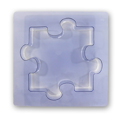 "10"" Puzzle Shape Stepping Stone Mold"