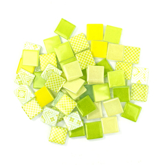 Lemon & Lime Patchwork Tile Mix