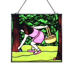 Easter Egg Hunt Stained Glass Panel Free Project Guide