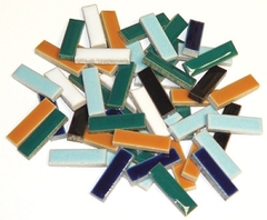 Ceramic Rectangles Assortment 1lb
