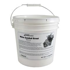 White Sanded Grout - 25 LBS