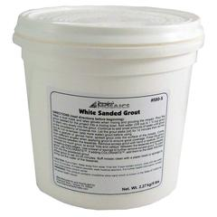 White Sanded Grout - 5 LBS