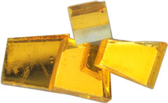 COLORED MIRRORS AMBER 1/2 LB